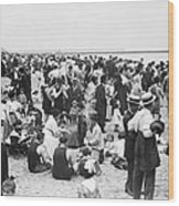 Coney Island New York - 1912 Wood Print