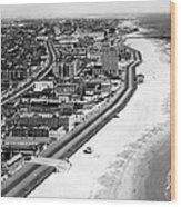 Coney Island, New York, New York. March Wood Print by Everett