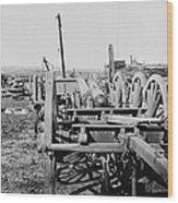 Confederate Cannon Wood Print