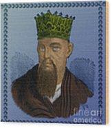 Confucius, Chinese Philosopher Wood Print