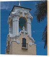 Congregational Church Tower Wood Print