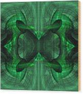 Conjoint - Emerald Wood Print