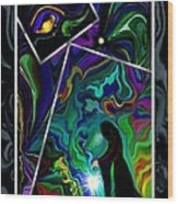 Conjurer Of Dreams And Delusions Wood Print