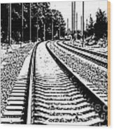 Conneticut Railway Wood Print
