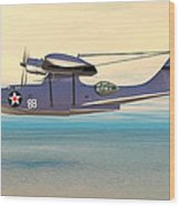 Consolidated Pby Catalina Wood Print