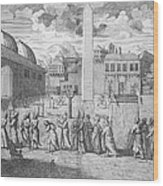 Constantinople, 1727 Wood Print