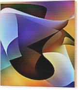 Soulscape 5 Wood Print