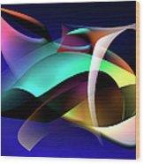 Soulscape 9 Wood Print