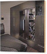 Contemporary Bedroom Wood Print