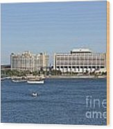Contemporary Hotel Wood Print