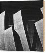 Contrasts Wood Print
