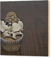 Cookie II Wood Print by Malania Hammer