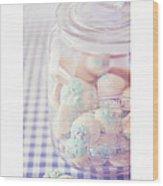 Cookie Jar Wood Print by Priska Wettstein