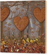 Cookie Trees Wood Print