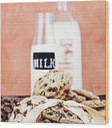 Cookies And Cream Wood Print
