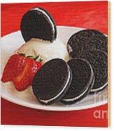 Cookies N Cream Wood Print