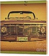 Cool Impala Wood Print
