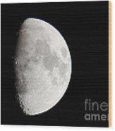 Copernicus In Oceanus Procellarum The Monarch Of The Moon Wood Print