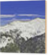 Copper Mountain Vista Wood Print