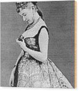 Cora Pearl C1835 1886 Wood Print