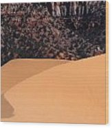 Coral Pink Sand Dunes Wood Print