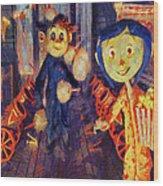 Coraline Circus Wood Print