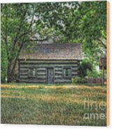 Corbett's Cabin Wood Print by Pamela Baker