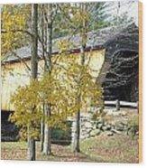 Corbin Covered Bridge Wood Print