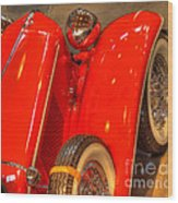 Cord Automobile  Wood Print