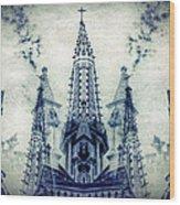 Cordoba Church Argentina Wood Print