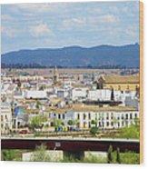 Cordoba Cityscape In Spain Wood Print