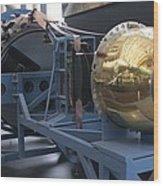 Corona Spy Satellite Wood Print
