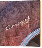 Coronet Diplomat Wood Print