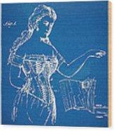 Corset Patent Series 1877 Wood Print