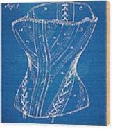 Corset Patent Series 1884 Wood Print