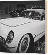 Corvette 55 Convertible Wood Print