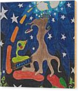 Cosmic Ancestry Wood Print