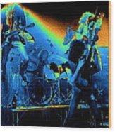 Cosmic Derringer Electrify Spokane Wood Print