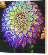 Cosmic Natural Beauty Wood Print