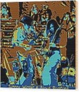 Cosmic Winter Blues 1975 Wood Print