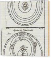 Cosmologies Of Copernicus And Tycho Wood Print