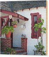 Cottage Charm Wood Print
