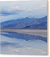 Cottonball Basin Death Valley Wood Print