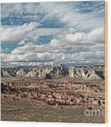 Cottonwood Canyon Badlands Wood Print
