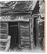 Cottonwood Jail Wood Print