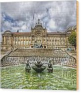 Council House And Victoria Square - Birmingham Wood Print