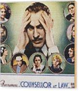 Counsellor At Law, Center John Wood Print