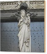Count Your Blessings- St Mary Of Brugge- 01 Wood Print