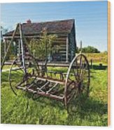 Country Classic Oil Wood Print