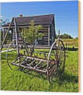 Country Classic Paint Filter Wood Print